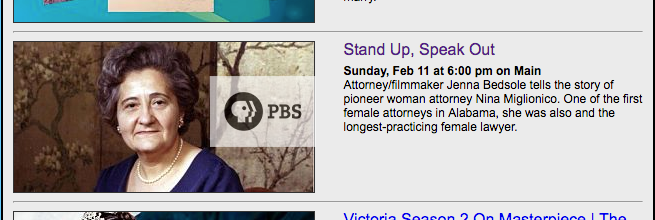 Stand Up, Speak Out on PBS tonight!
